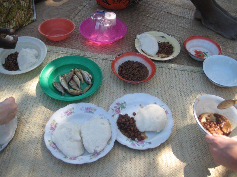 Nsima, klaar om te eten
