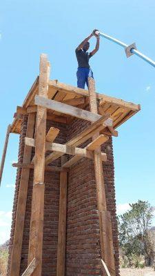 Bouwen van de watertoren
